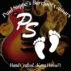 Paul Suppo's Barefoot Guitars, LLC Kailua-Kona, Hawaii